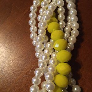 COSTUME JEWELRY  NEW SIMULATED PEARLS  WITH BEADS